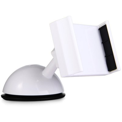 Universal Rotatable Super Suction Car Phone HolderStands &amp; Holders<br>Universal Rotatable Super Suction Car Phone Holder<br><br>Compatibility: Universal<br>Type: Clip Stand<br>Material  : Plastic<br>Features: Adjustable Stand<br>Color: Black, White<br>Product weight: 0.078 kg<br>Package weight: 0.120 kg<br>Product size (L x W x H): 13 x 5 x 7 cm / 5.1 x 2.0 x 2.8 inches<br>Package size (L x W x H): 15 x 7 x 8 cm<br>Package Contents: 1 x Clip Stand
