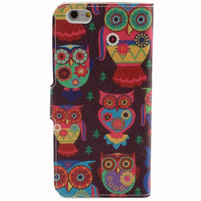 A Pair of Owl Style Protective Case CoveriPhone Cases/Covers<br>A Pair of Owl Style Protective Case Cover<br><br>Compatible for Apple: iPhone 6<br>Features: Full Body Cases<br>Material: PU Leather<br>Style: Cartoon, Owls, Cute<br>Color: Multi-Color<br>Product weight : 0.020 kg<br>Package weight : 0.060 kg<br>Product size (L x W x H): 14 x 7 x 1 cm / 5.5 x 2.8 x 0.4 inches<br>Package size (L x W x H) : 15 x 8 x 2 cm<br>Package contents: 1 x Full Body Case