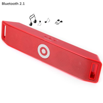 BT  -  18 Portable MIC Wireless Bluetooth 2.1 Radio Speaker Built in Lithium Battery for MP3 MP4 Player PSP Computer etc.