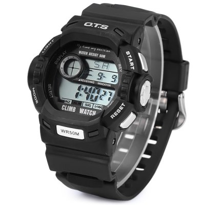 Гаджет   OTS 6907 Multifunction Sports LED Climb Watch 50M Water Resistant Sports Watches