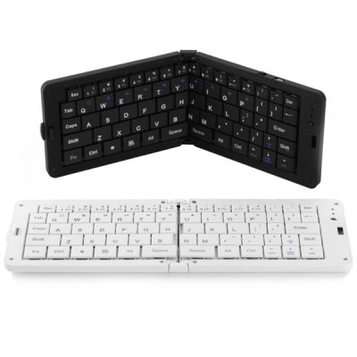 Гаджет   CSK  -  03 Small Portable Wireless Bluetooth Folding Keyboard iPhone Bluetooth Keyboard