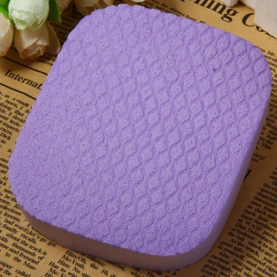 Practical Silk Wadding Square Face Cleaning Puff Makeup Beauty Gadgets