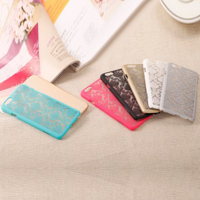 Гаджет   Stylish Empaistic Honeysuckle Pattern Plastic Back Case Cover for iPhone 6  -  4.7 inches