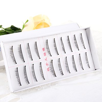 10 Pairs Three Tree Manual Thick False Eyelash Makeup for Women  -  Type 06Party Supplies<br>10 Pairs Three Tree Manual Thick False Eyelash Makeup for Women  -  Type 06<br><br>Category: False Eyelash<br>Style: Charming, Popular<br>Type: Manual<br>Color: Black<br>Season: All Seasons<br>Occasion: Causal, Party, Outdoor, Holiday, Daily<br>Application: Eye<br>Package weight   : 0.06 kg<br>Package size (L x W x H)  : 18.5 x 9.5 x 2.5 cm<br>Package Contents: 10 x Pair of Type 06 False Eyelash