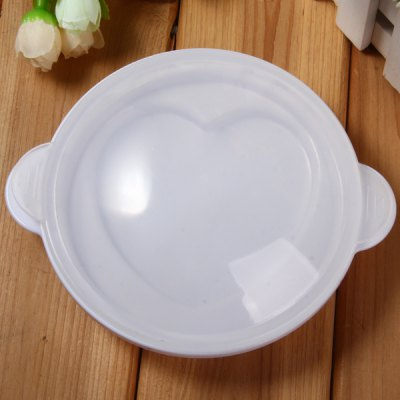 Microwave Oven Heart Pattern Egg Steamer Cooker Tray Kitchen Tool