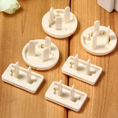 Фотография 6pcs Plug Socket Protection Electrical Security Lock Cover for Baby