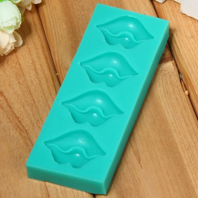 Lips Pattern Fondant Cake Decoration Sugar Craft Silicone Baking Mold