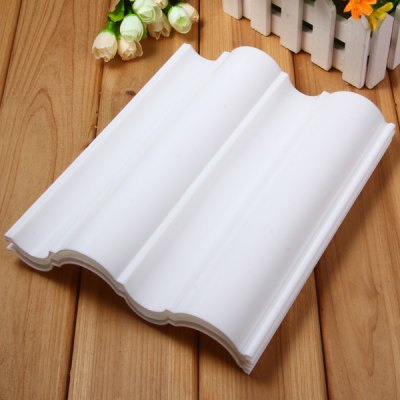 3pcs Wave Pattern Dry Plate for Fondant Cake Supplies