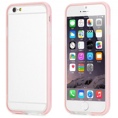 Rock Drop Resistant Phone Silicone Frame Cover Case for iPhone 6  -  4.7 inchiPhone Cases/Covers<br>Rock Drop Resistant Phone Silicone Frame Cover Case for iPhone 6  -  4.7 inch<br><br>Brand: Rock<br>Compatible for Apple: iPhone 6<br>Features: Bumper Frame<br>Material: Silicone, TPU<br>Style: Special Design<br>Color: Blue, Green, Gold, Cadetblue, White, Pink<br>Product weight : 0.025 kg<br>Package weight : 0.060 kg<br>Product size (L x W x H): 13.9 x 6.9 x 1.3 cm / 5.5 x 2.8 x 0.5 inches<br>Package size (L x W x H) : 17.9 x 8.9 x 2.2 cm<br>Package contents: 1 x Silicone Frame