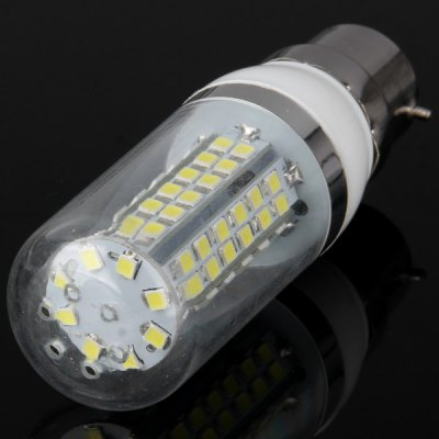 Гаджет   B22 18W 80 x SMD 2835 1650LM White Light LED Corn Bulb with Clear Cover 6000  -  6500K LED Light Bulbs