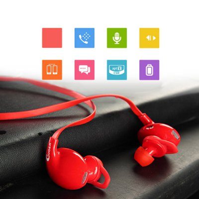 ФОТО GUOER S90 Professional Bluetooth V4.0 Hands Free Sports Earphone Dual Earplugs with Mic for Tablet PC Smartphones