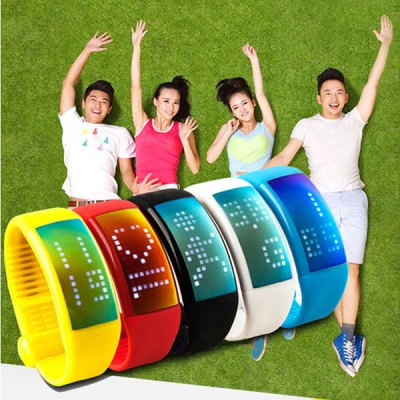 4GB USB Flash Drive Smart Bracelet Sport Fitness TrackerSmart Watches<br>4GB USB Flash Drive Smart Bracelet Sport Fitness Tracker<br><br>Bluetooth version: NO<br>Waterproof: NO<br>Screen: LED<br>People: Unisex watch<br>Functions: Temperature Display, Calorie burns measurement, Distance measurement, Pedometer<br>Case material: Resin<br>Band material: Rubber<br>Language: English<br>Available color: Red, Blue, Yellow, Black, White<br>Product size (L x W x H) : 23.5 x 3 x 1 cm<br>Package contents: 1 x USB Flash Drive Watch, 1 x Manual