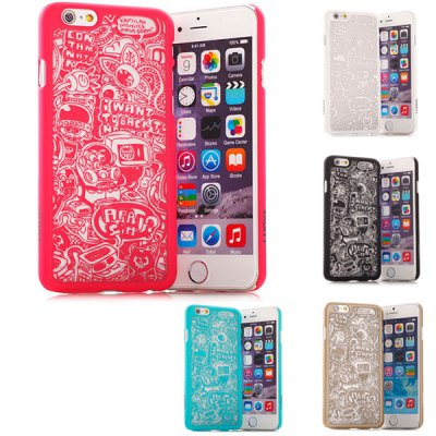 Stylish Empaistic Cartoon Pattern Plastic Back Case Cover for iPhone 6  -  4.7 inchesiPhone Cases/Covers<br>Stylish Empaistic Cartoon Pattern Plastic Back Case Cover for iPhone 6  -  4.7 inches<br><br>Compatible for Apple: iPhone 6<br>Features: Back Cover<br>Material: Plastic<br>Style: Special Design<br>Color: Blue, Rose, Gold, Black, White<br>Product weight : 0.015 kg<br>Package weight : 0.080 kg<br>Product size (L x W x H): 14 x 7.2 x 1.1 cm / 5.5 x 2.8 x 0.4 inches<br>Package size (L x W x H) : 19 x 9.5 x 2 cm<br>Package contents: 1 x Case