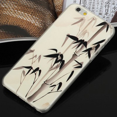 ФОТО Aobntech PC Protective Back Case of Monet Ink Bamboo Pattern Design for iPhone 6  -  4.7 inches