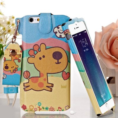 Jiong Bear Cartoon Sika Deer Pattern PU + PC 5.5 inch Phone Cover Case Skin with Lanyard for iPhone 6 PlusiPhone Cases/Covers<br>Jiong Bear Cartoon Sika Deer Pattern PU + PC 5.5 inch Phone Cover Case Skin with Lanyard for iPhone 6 Plus<br><br>Brand: Jiong Bear<br>For: Mobile phone<br>Compatible for Apple: iPhone 6 Plus<br>Features: Back Cover, With Lanyard<br>Material: PU Leather, PC<br>Style: Special Design<br>Color: Multi-Color<br>Product weight : 35 g<br>Package weight : 0.070 kg<br>Product size (L x W x H): 16.2 x 8.2 x 1.1 cm / 6.4 x 3.2 x 0.4 inches<br>Package size (L x W x H) : 20 x 12 x 2 cm<br>Package contents: 1 x Case