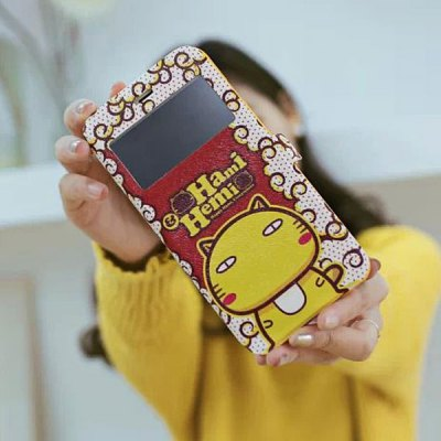 Гаджет   Practical Hami and Hemi Pattern PU and TPU Cover Case with Stand for iPhone 6 Plus  -  5.5 inches