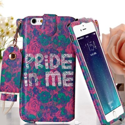 Гаджет   Jiong Bear Pride in Me PU + PC 5.5 inch Phone Cover Case Skin with Lanyard for iPhone 6 Plus iPhone Cases/Covers