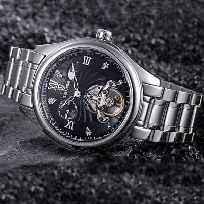 ФОТО Tevise 8031 Automatic Mechanical Watch Moon Phase