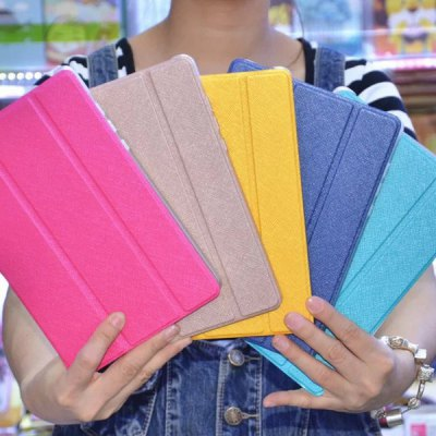 Гаджет   Stylish Pure Color PU and PC Case Cover for Xiaomi MiPad iPad Cases/Covers