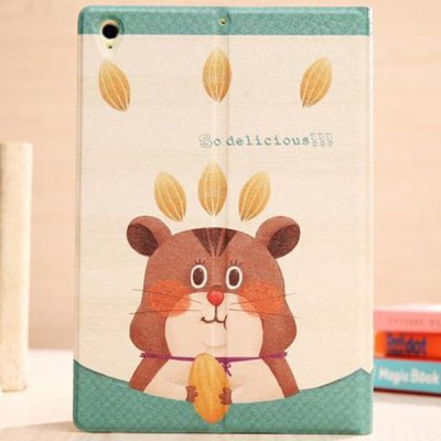 Гаджет   Stylish Squirrel Pattern PU and PC Case Cover for Xiaomi MiPad iPad Cases/Covers