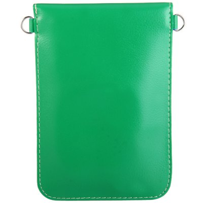 Гаджет   Universal PU Material 6.3 inches Vertical Snapper Phone Pouch Lanyard Change Pocket Card Bag Other Cases/Covers