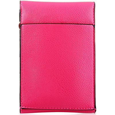 Гаджет   Universal PU Material 5.5 inches Vertical Snapper Phone Pouch Lanyard Change Pocket Card Bag Other Cases/Covers