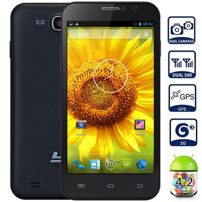 LY Max 5.0 Android 4.2 5.0 inch 3G Smartphone