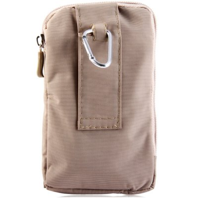Durable Multifunctional 5.5 inch Phone Bag Hook Pattern Outdoor Hiking Camping Small Pocket Waist BagOther Cell Phone Accessories<br>Durable Multifunctional 5.5 inch Phone Bag Hook Pattern Outdoor Hiking Camping Small Pocket Waist Bag<br><br>Style: Special<br>Color: Brown, Khaki, Black<br>Product weight: 0.047 kg<br>Package weight: 0.070 kg<br>Product size (L x W x H) : 16.5 x 10 x 3 cm / 6.5 x 3.9 x 1.2 inches<br>Package Contents: 1 x Bag