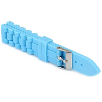 Classic Gel Band Lady Watch Fashion Silicone Children Watch BandWatch Accessories<br>Classic Gel Band Lady Watch Fashion Silicone Children Watch Band<br><br>Type: Normal watch band<br>Color: White, Orange, Blue, Pink<br>Product weight: 0.018 kg<br>Package weight: 0.050 kg<br>Product size (L x W x H) : 20.3 x 2.0 x 0.5 cm / 7.87 x 0.71 x 0.2 inches<br>Package size (L x W x H): 21.5 x 3.0 x 1.5 cm<br>Package Contents: 1 x Silica Gel Watchband