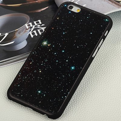 ФОТО Aobntech PC Frosted Protective Back Case of Stars Starry Pattern Design for iPhone 6  -  4.7 inches