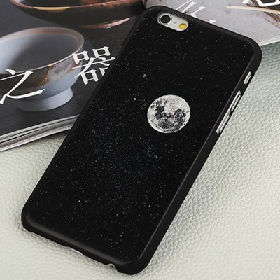 ФОТО Aobntech PC Frosted Protective Back Case of Black Planet Pattern Design for iPhone 6  -  4.7 inches