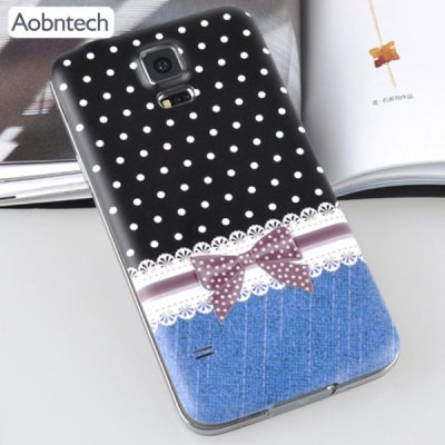 Здесь можно купить   Aobntech Plastic Material Relief Phone Case Wave Point Pattern Battery Back Cover for Samsung Galaxy S5