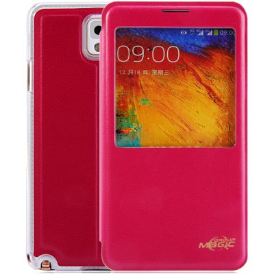 PC and PU Cover Case for Samsung Galaxy Note 3 N9000