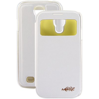 PC and PU Material NFC Intellisense Luminous Cover Case for Samsung Galaxy S4 i9500 i9505