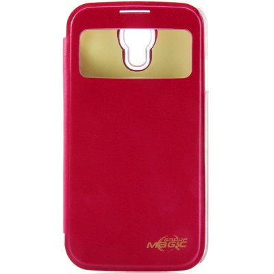 ФОТО PC and PU Material NFC Intellisense Luminous Cover Case for Samsung Galaxy S4 i9500 i9505