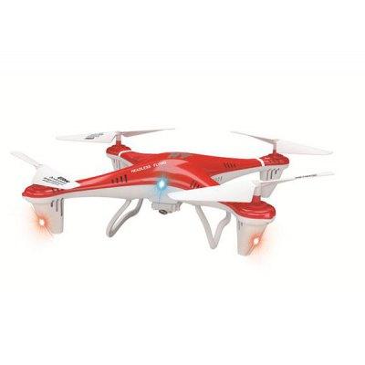 HT F801C Headless Mode 2.4GHz LED RC Quadcopter with 1.0MP Camera