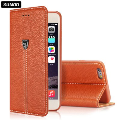 Гаджет   Xundd Classic 5.5 inch PU Phone Cover Protector Back Case Skin with Stand Card Holder Function for iPhone 6 Plus