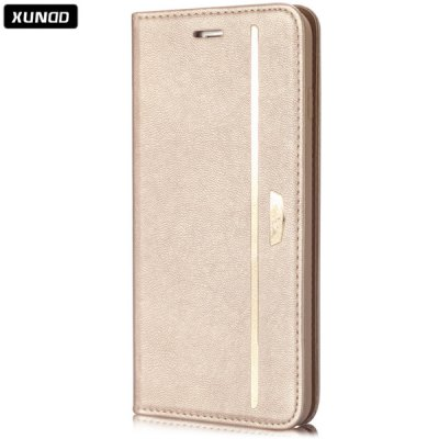 Xundd Classic 4.7 inch TPU Phone Cover Protector Back Case Skin with Stand Card Holder Function for iPhone 6