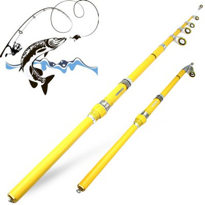 Yoshikawa H270 Portable 2.7m Telescopic Fly Fishing Rod Pole Stick