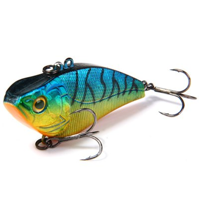 Yoshikawa Sinking Hard Fishing Bait 6.5cm 15.5g Artificial Lure with Fish Hooks