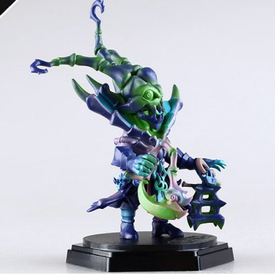 Гаджет   18CM League of Legends Cosplay PVC Action Figure Chain Warden Hammer Stone Thresh Toy with Standing Base Collection Gifts Classic & Retro Toys