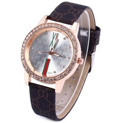 Fashion WoMaGe Female Quartz Watch Round Dial with Crystall Drills Leather BandWomens Watches<br>Fashion WoMaGe Female Quartz Watch Round Dial with Crystall Drills Leather Band<br><br>Watches categories: Female table<br>Available color: Black, White<br>Style : Diamond, Fashion&amp;Casual<br>Movement type: Quartz watch<br>Shape of the dial: Round<br>Display type: Analog<br>Case material: Stainless steel<br>Band material: Leather<br>Clasp type: Pin buckle<br>The dial thickness: 0.8 cm / 0.3 inches<br>The dial diameter: 3.9 cm / 1.5 inches<br>The band width: 1.1 cm / 0.4 inches<br>Product weight: 35 g<br>Product size (L x W x H) : 24.0 x 3.9 x 0.8 cm / 9.4 x 1.5 x 0.3 inches<br>Package contents: 1 x Women Watch