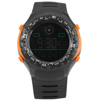 Гаджет   Bistec 9636 Unisex Digital Quartz Watch Round Dial Rubber Band Seconds Chronograph Unisex Watches