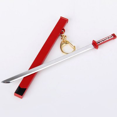 Cool 16.5cm Akame Ga Kill Akame Weapon Sword Model ToyKey Chains<br>Cool 16.5cm Akame Ga Kill Akame Weapon Sword Model Toy<br><br>Type: Cosplay Toy<br>Material: Metal<br>Product Weight   : 0.053 kg<br>Package Weight   : 0.1 kg<br>Package Size (L x W x H)  : 21 x 8 x 3 cm<br>Package Contents: 1 x Akame Ga Kill Akame Sword Weapon Model