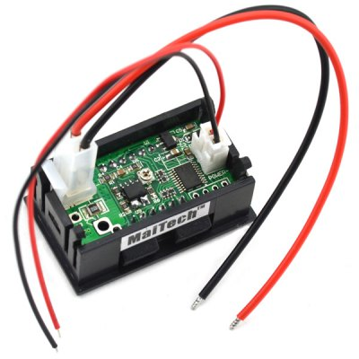 MaiTech 0.56 inch Three Digit Red LED Display DC Amperemeter ( 4  -  30V / 0  -  999mA )LCD,LED Display Module<br>MaiTech 0.56 inch Three Digit Red LED Display DC Amperemeter ( 4  -  30V / 0  -  999mA )<br><br>Model: MaiTech<br>Material: Plastic + iron + PCB<br>Product Weight: 0.021 kg<br>Package Weight: 0.035 kg<br>Product Size(L x W x H): 4.8 x 2.9 x 2.1 cm / 1.9 x 1.1 x 0.8 inches<br>Package Size(L x W x H): 10.0 x 7.0 x 2.8 cm<br>Package Contents: 1 x MaiTech 0.5 inch 3 Digital Red LED Display DC Amperemeter