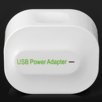 Гаджет   High Compatibility DC 5V 3A 2 Ports USB Charger Power Adapter for Desktop Laptop ( US Plug / AC 110  -  240V ) Cables & Connectors