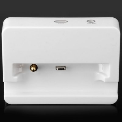 Гаджет   Practical 2 in 1 Phone 8Pin Charging Dock with 3.5mm Audio Plug for iPhone 5S / 5 Cables & Connectors
