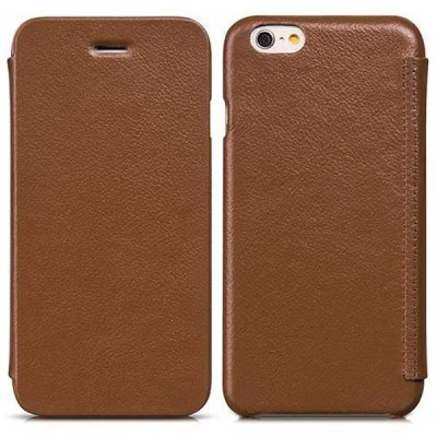 ФОТО Hoco 4.7 inch Artificial Leather Phone Cover Lichee Pattern Full Body Case Skin for iPhone 6