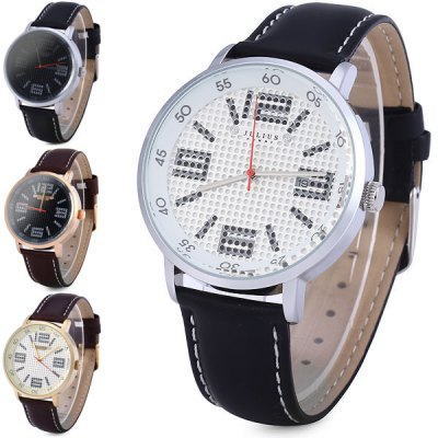 Julius 073 Unique Scale Analog Unisex Quartz Watch Date Round Dail Leather StrapUnisex Watches<br>Julius 073 Unique Scale Analog Unisex Quartz Watch Date Round Dail Leather Strap<br><br>Brand: Julius<br>People: Unisex table<br>Watch style: Casual<br>Available color: Gold, White, Black, Brown<br>Shape of the dial: Round<br>Movement type: Quartz watch<br>Display type: Analog<br>Case material: Stainless steel<br>Band material: Leather<br>Clasp type: Pin buckle<br>Water Resistance: Life water resistant<br>Special features: Calendar, Calendar<br>The dial thickness: 1.0 cm / 0.4 inches<br>The dial diameter: 4.2 cm / 1.7 inches<br>The band width: 1.8 cm / 0.7 inches<br>Product weight: 48 g<br>Product size (L x W x H) : 25.3 x 4.2 x 1.0 cm / 10.0 x 1.7 x 0.4 inches<br>Package contents: 1 x Watch