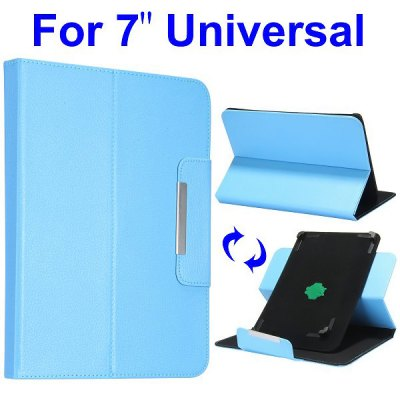 Гаджет   360 Rotate Magnetic Flip Clip Stand Leather Case Cover Tablet PCs